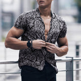 Men's Multi Color Lump Chest Pocket Shirt