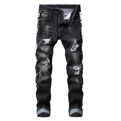 Men's 333 Distressed Classic Slim Fit Jeans