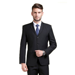 Mens Slim Fit Fashion Dress Suit