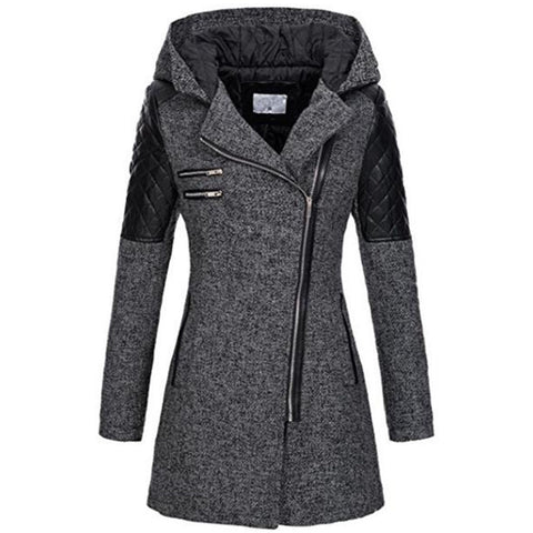 Women's Black Long Sleeve Jacket