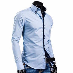 Men's Luxury Long Sleeve Casual Shirt