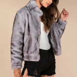 Women's Lifestyle Fur Coat