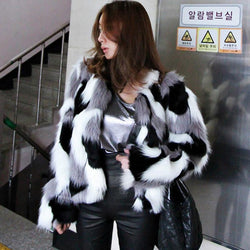 Women's Color Fur Jacket
