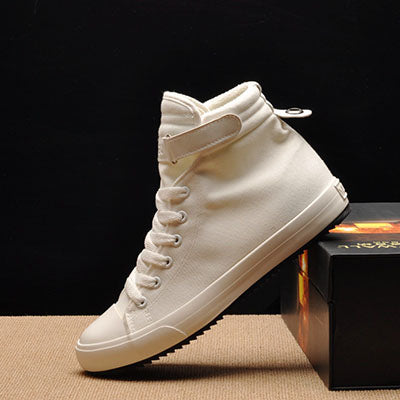 Men's Casual Shoes High-top Canvas