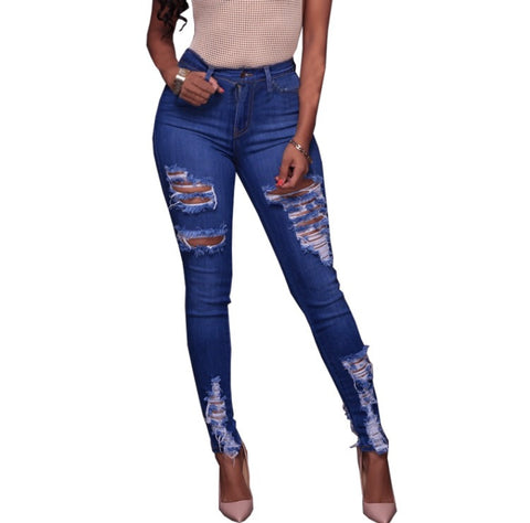 Ripped Envy - Women's Custom Damaged Jeans - Signature Design by Shawn Broadnax