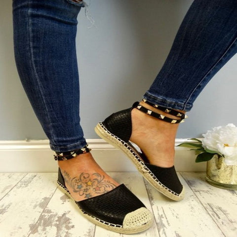Beaded Women Fashion Handmade Slip on Casual Loafers