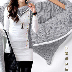 Pullover Sweater Coat