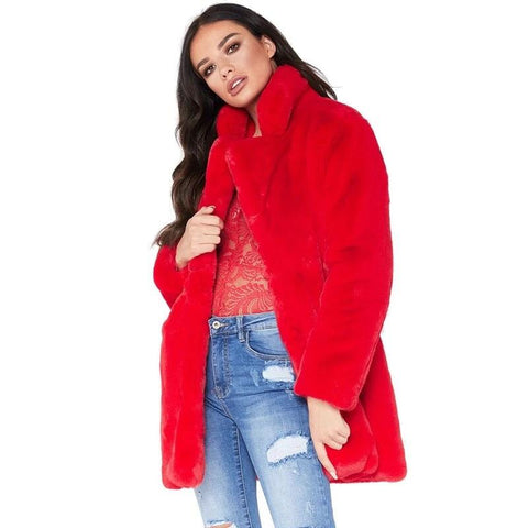Velvet Casual Women's Coat