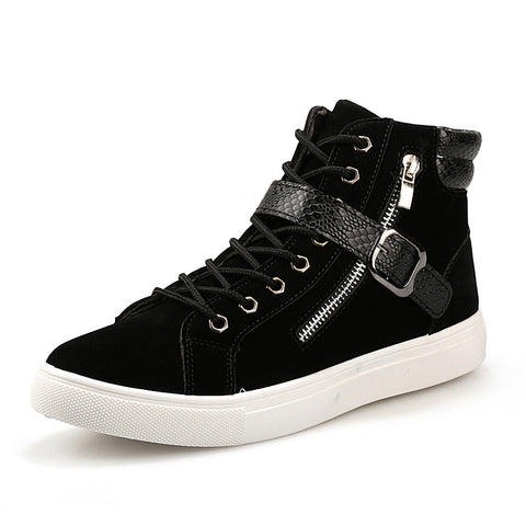 Patchwork Design High Top