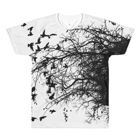 Mother Nature men's crewneck t-shirt