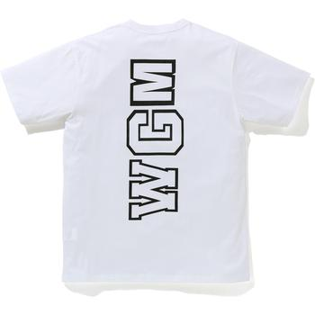 BIG WGM SHARK EMBLEM WIDE TEE M