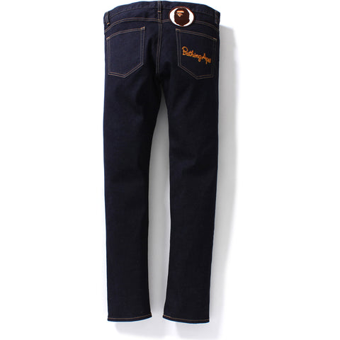 SLIM STRETCH DENIM PANTS M