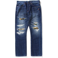 1999 TYPE-02 DAMAGED DENIM PANTS M