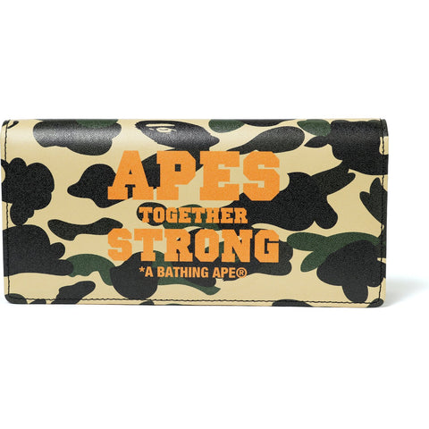 1ST CAMO ATS LEATHER LONG WALLET M