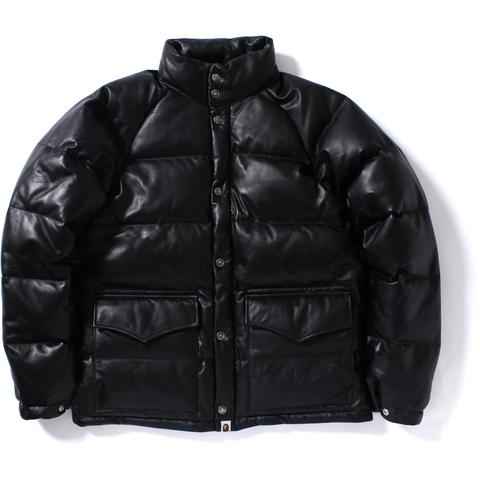LEATHER CLASSIC DOWN JACKET M
