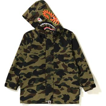 1ST CAMO SHARK SNOWBOARD JACKET KIDS