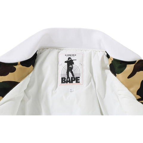 1ST CAMO COLOR BLOCK PADDED JACKET M
