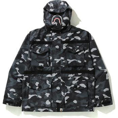 GRADATION CAMO SHARK MASK JACKET M