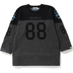 RELAXED FOOTBALL KNIT M