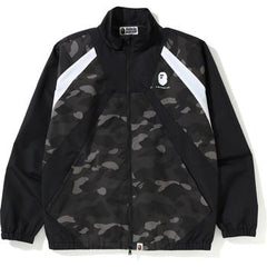 COLOR CAMO COLOR BLOCK JACKET MENS