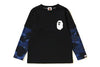 COLOR CAMO APE HEAD LAYERED L/S TEE K