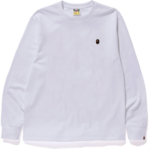 APE HEAD ONE POINT L/S TEE M
