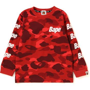COLOR CAMO BAPE L/S TEE K