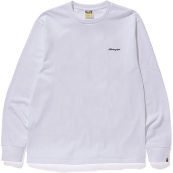A BATHING APE PATCH L/S TEE M