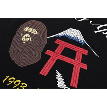 BAPE FAKE EMBROIDERY L/S TEE ONEPIECE L