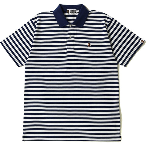 APE HEAD ONE POINT HOOP POLO MENS
