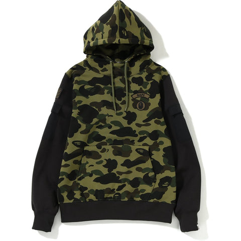 1ST CAMO SLEEVE POCKET PULLOVER HOODIE MENS