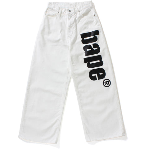 BAPE WIDE PANTS L