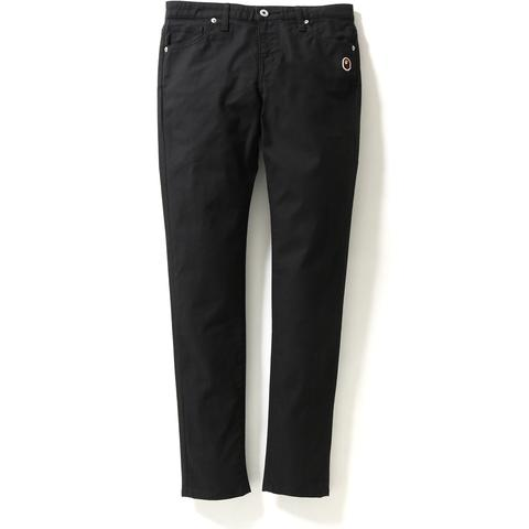 APE HEAD ONE POINT SKINNY PANTS LADIES