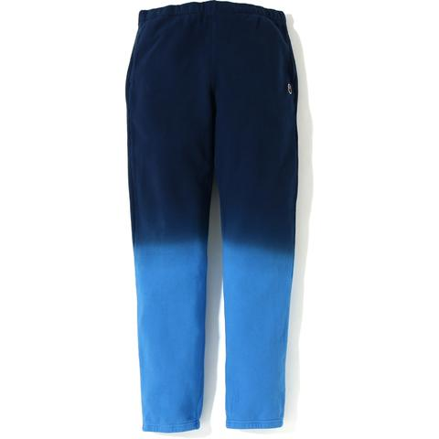 BAPE GRADATION SLIM SWEAT PANTS MENS