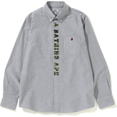 ABC APPLIQUE OXFORD BD SHIRT M