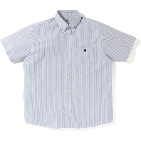 RELAXED STRIPE S/S SHIRT M
