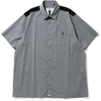 RELAXED STRETCH S/S SHIRT M