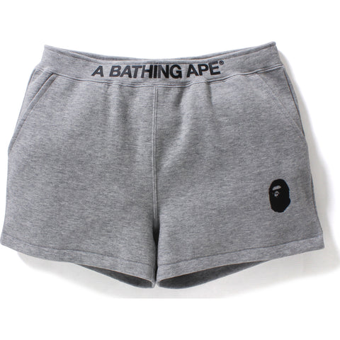 A BATHING APE SWEAT SHORTS L