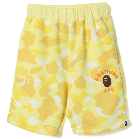 PASTEL COLOR CAMO SWEAT SHORTS KIDS