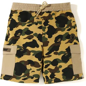 1ST CAMO SWEAT CARGO SHORTS M