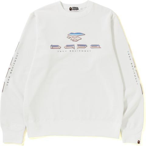BAPE TECH CREWNECK MENS