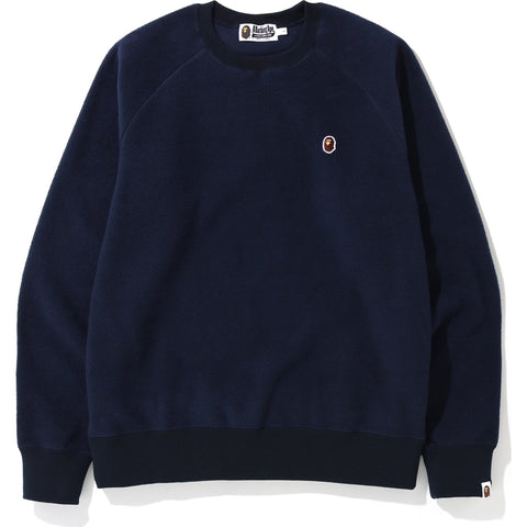 FLEECE ONE POINT CREWNECK M