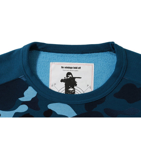 GRADATION CAMO WIDE CREWNECK M