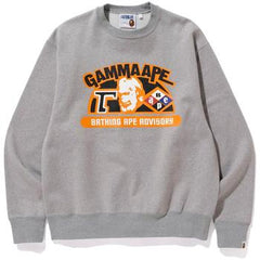 RELAXED CLASSIC GAMMA APE CREWNECK M