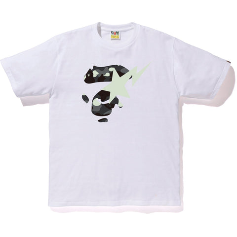 CITY CAMO APE FACE ON BAPESTA TEE M