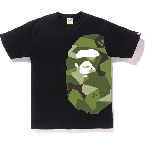 SPLINTER CAMO SIDE BIG APE HEAD TEE M