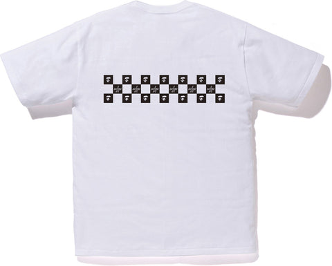 BAPE CHECKER TEE M
