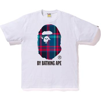 BAPE CHECK BY BATHING TEE M