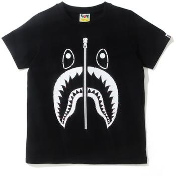 CRYSTAL STONE SHARK TEE L