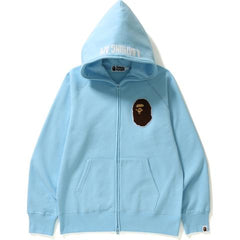 APE HEAD ONE POINT FULL ZIP HOODIE M